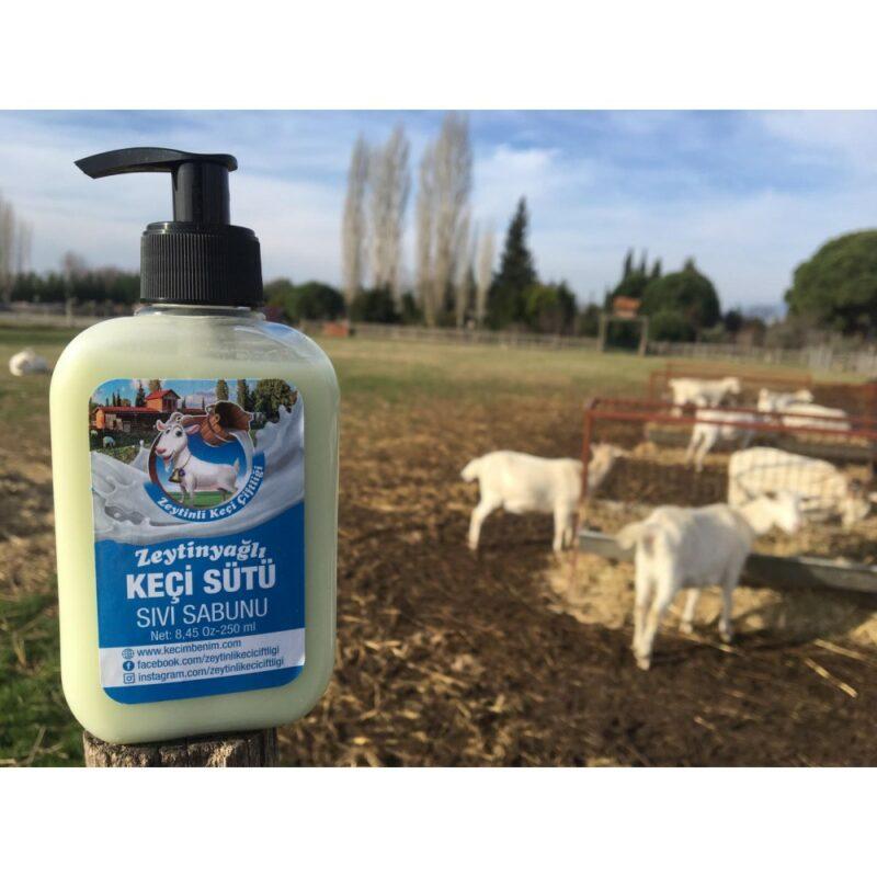 1 11 - Zeytinyağlı Keçi Sütü Sıvı Sabunu - 250 ml
