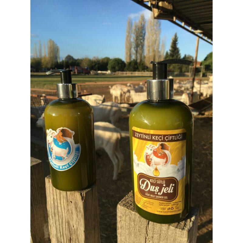 1 131 - Zeytinyağlı Keçi Sütlü Duş Jeli - 400 ml