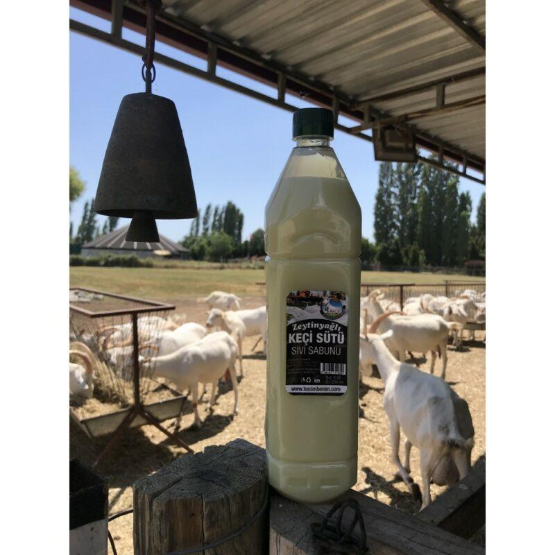 1 132 - Zeytinyağlı Keçi Sütü Sıvı Sabunu - 1 lt