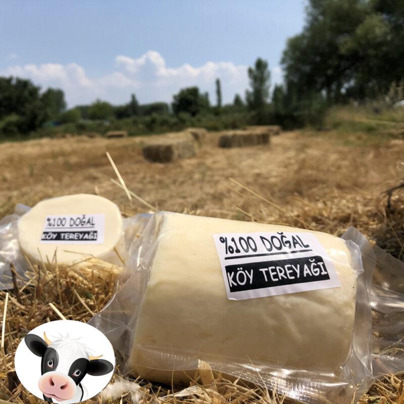 1 134 - Hakiki Köy Tereyağı %100 İnek Sütünden - 1 Kg