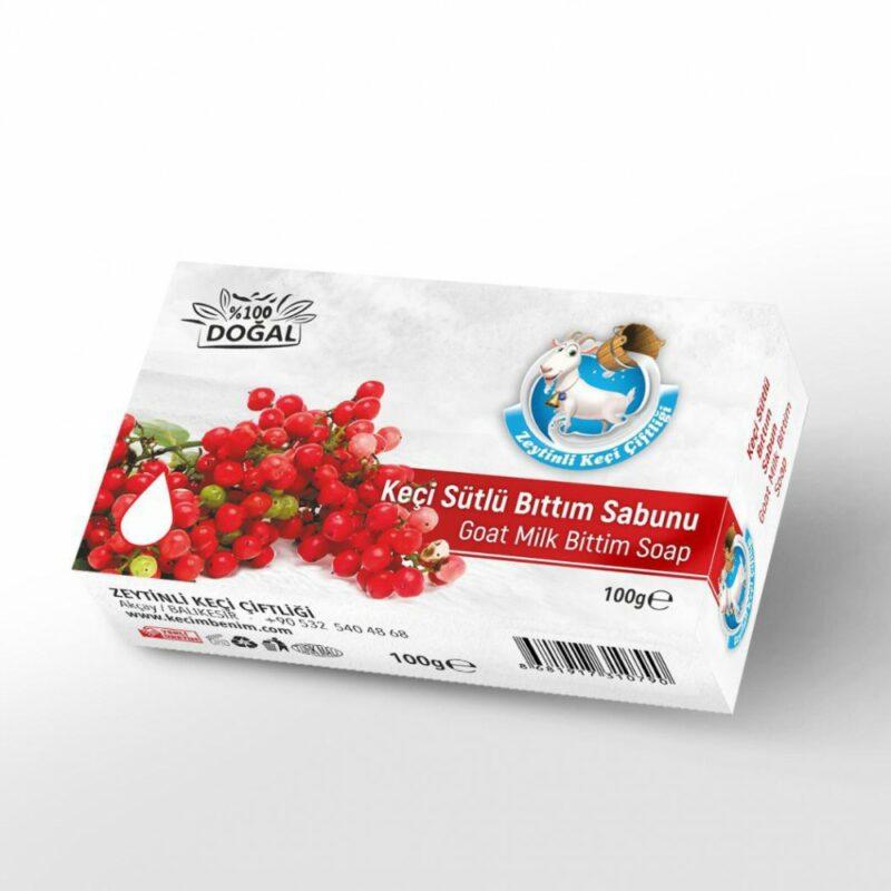 1 140 - Keçi Sütlü Bıttım Sabunu - 100 gr