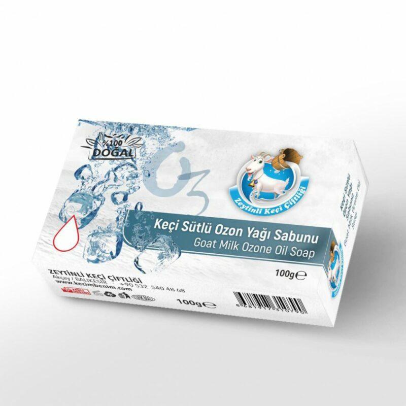 1 146 - Keçi Sütlü Ozon Yağı Sabunu - 100 gr