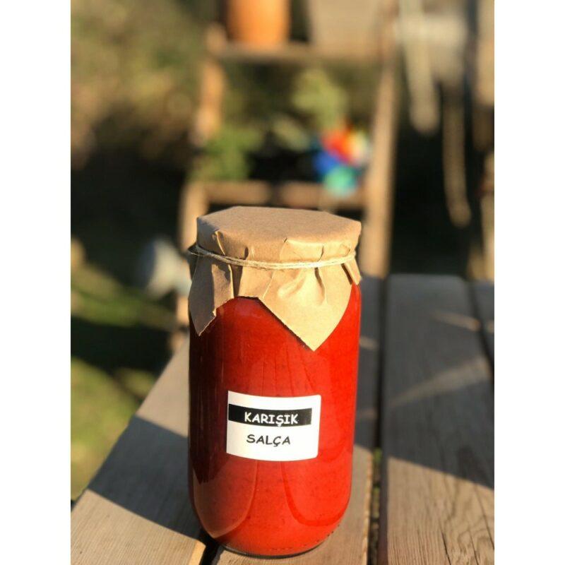 1 18 - Doğal Karışık Salça (Tatlı) - 1 kg