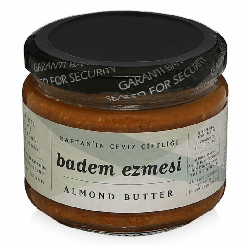 1 24 - %100 Yerli Badem Ezmesi Almond Butter - 250 gr