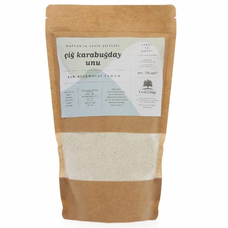 1 30 - Yerli Çiğ Karabuğday Unu - 750 gr