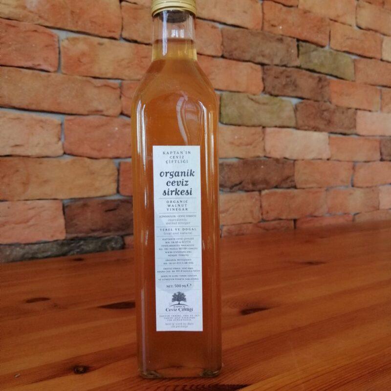 1 32 - Doğal Fermente Ceviz Sirkesi - 500 ml
