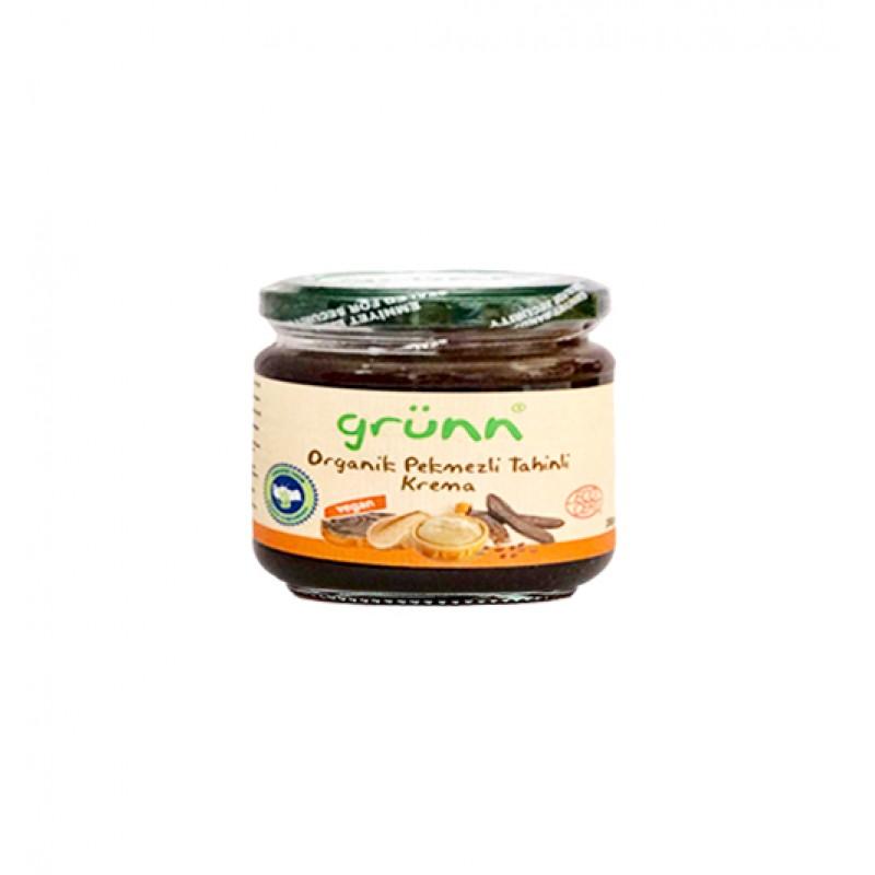 1 46 - Grünn Organik Pekmezli Tahinli Krema - 200 gr