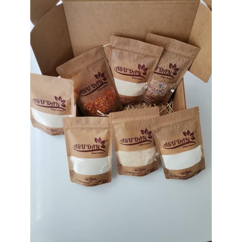 1 64 - Bebek Ek Gıda Tanışma Seti (+6 Ay) - 7 Paket