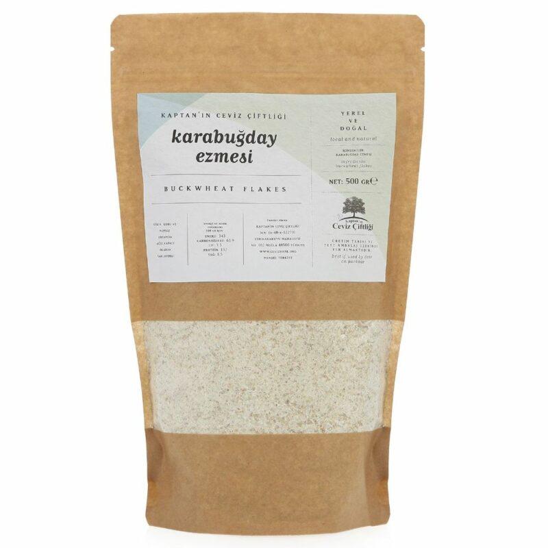 1 7 - Çiğ Karabuğday Ezmesi - 500 gr