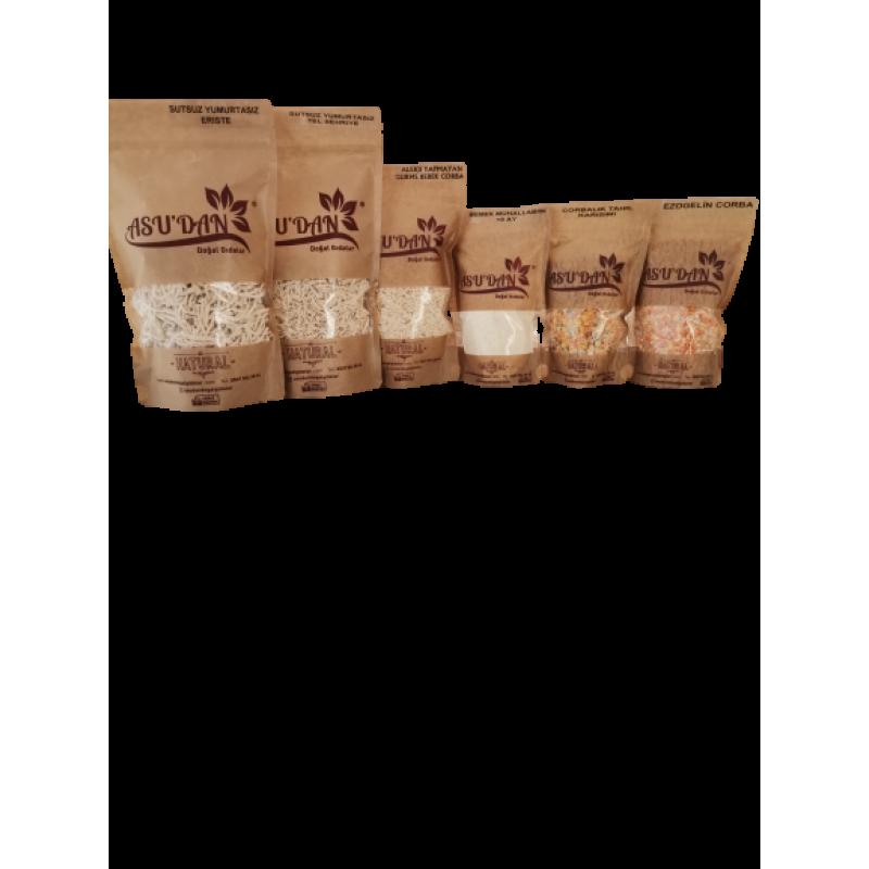 1 - Alerjik Bebek Ek Gıda Seti (+8 Ay) – 6 Paket