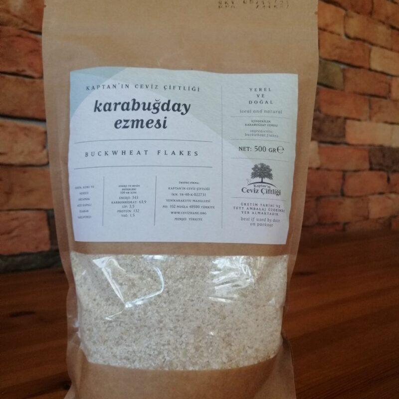 2 7 - Çiğ Karabuğday Ezmesi - 500 gr