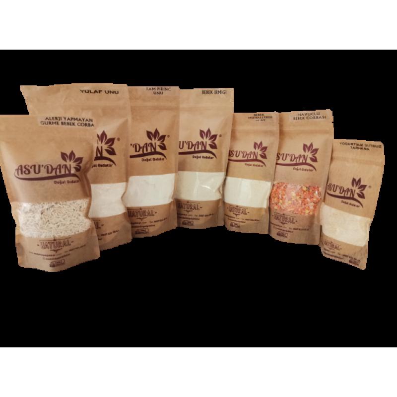 2 - Alerjik Bebek Ek Gıda Seti (+6 Ay) - 7 Paket