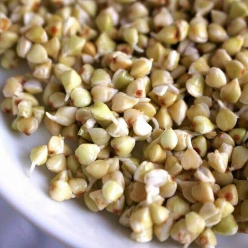 3 1 - Yerli Çiğ Karabuğday Tane - 1 kg