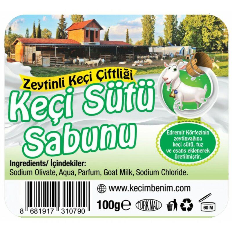 3 7 - Doğal, Saf Zeytinyağlı Keçi Sütü Sabunu