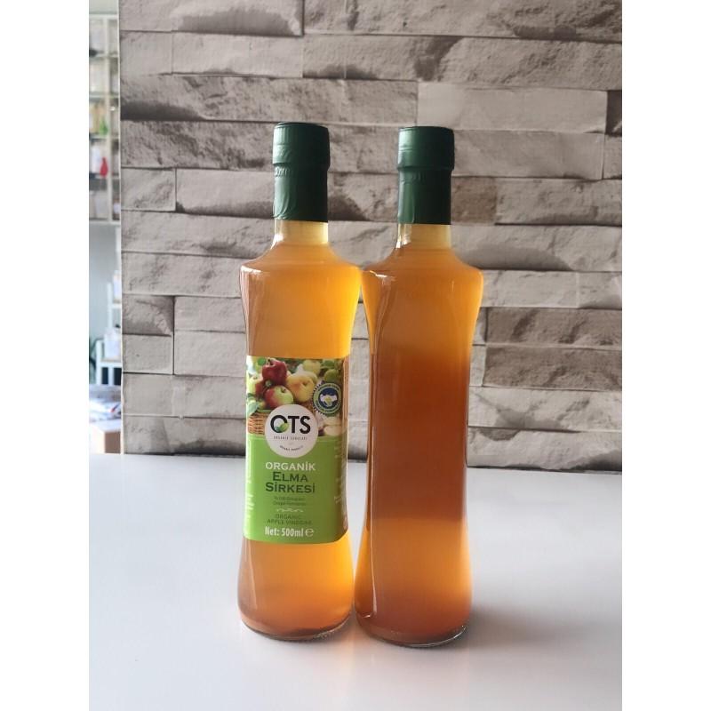 elma sirkesi - Ots Organik Elma Sirkesi - 500 ml